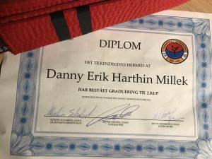 2. Kup Diploma Taekwondo