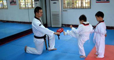 Taekwondo children